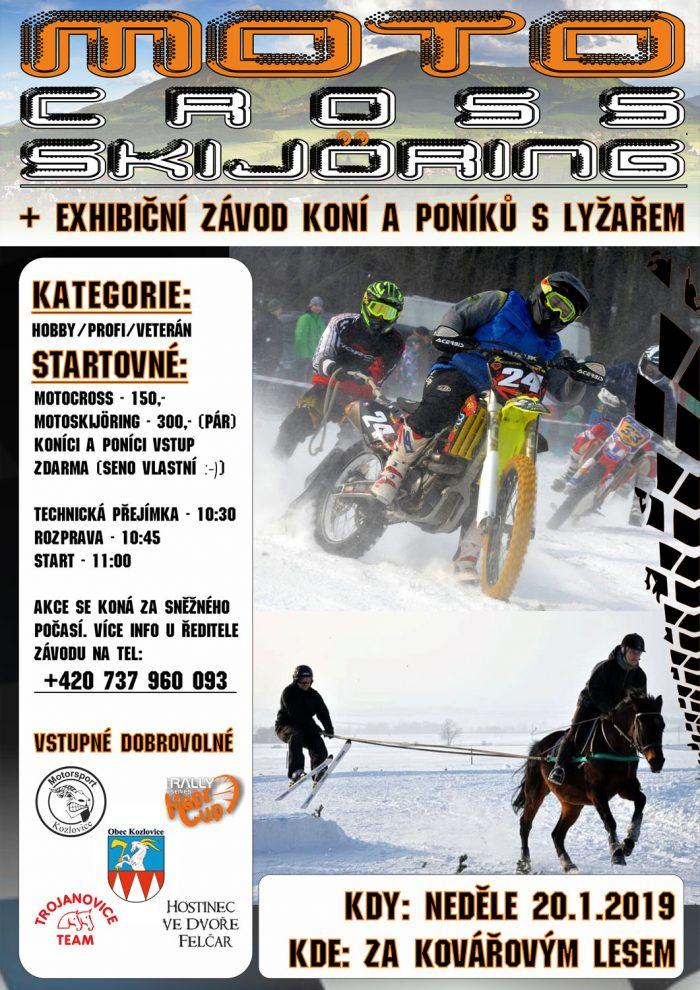 Moto skijoring 2019